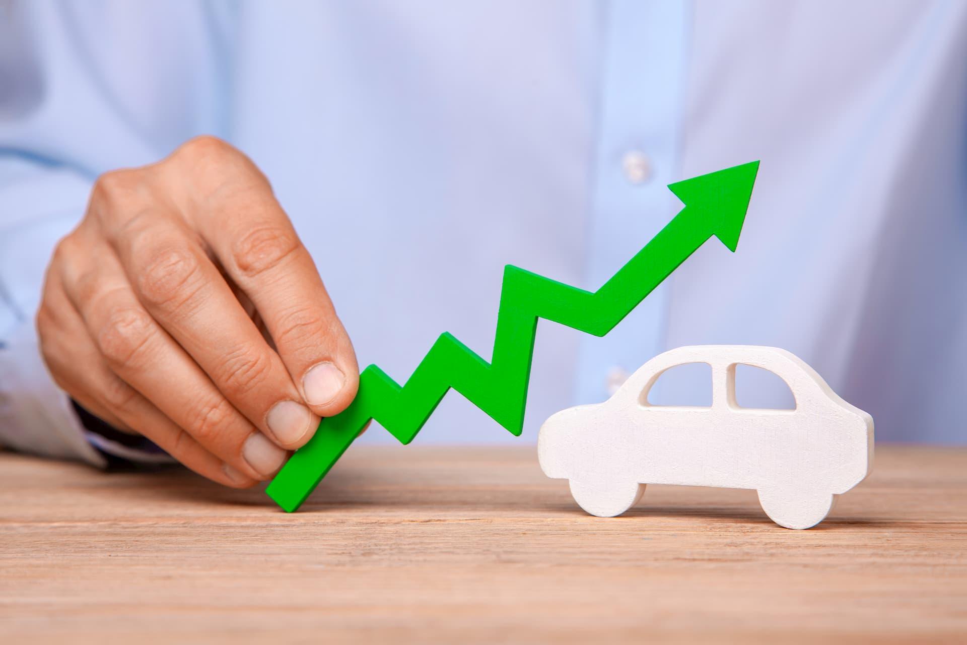 Augmentation des ventes