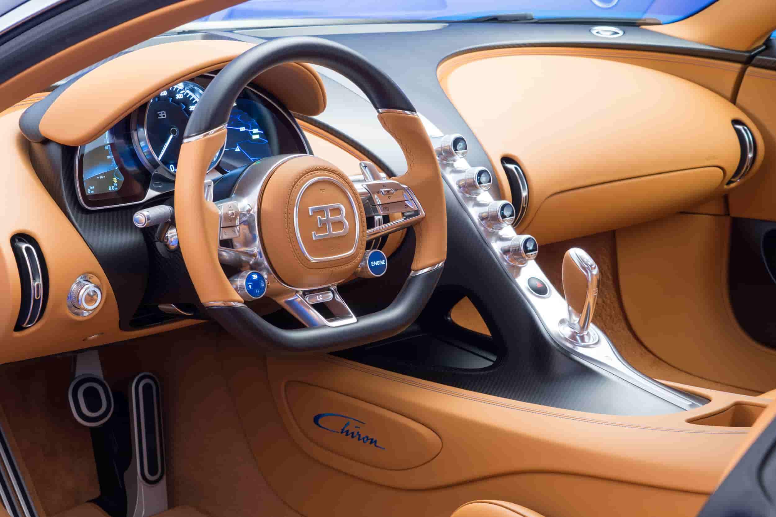 Intérieur Bugatti Chiron