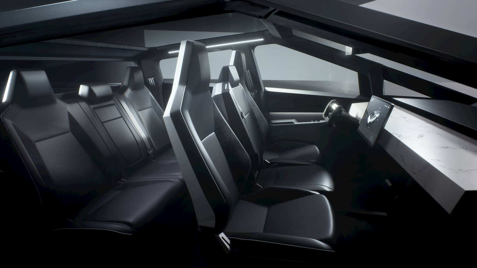 Interieur-Cybertruck