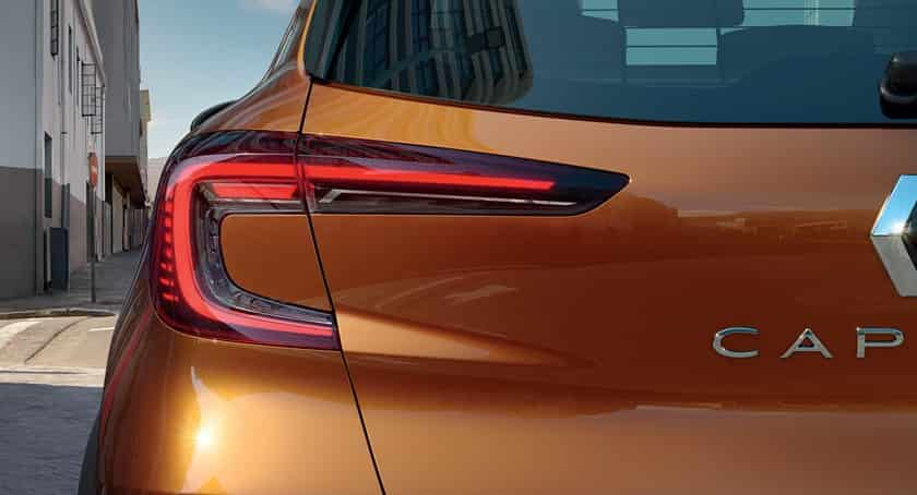 Feux arrière Nouveau Renault Captur