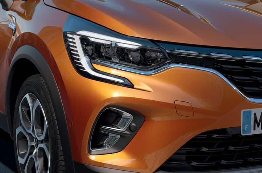 Feux avant du Nouveau Renault Captur