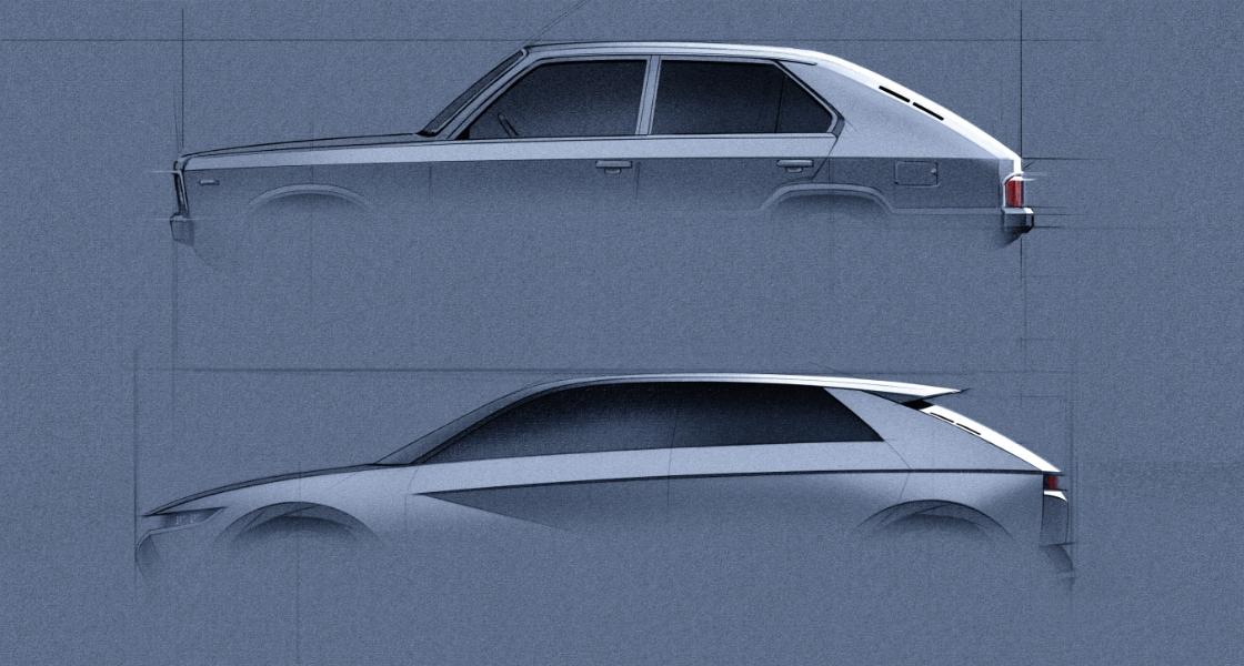 Design du Ioniq 5