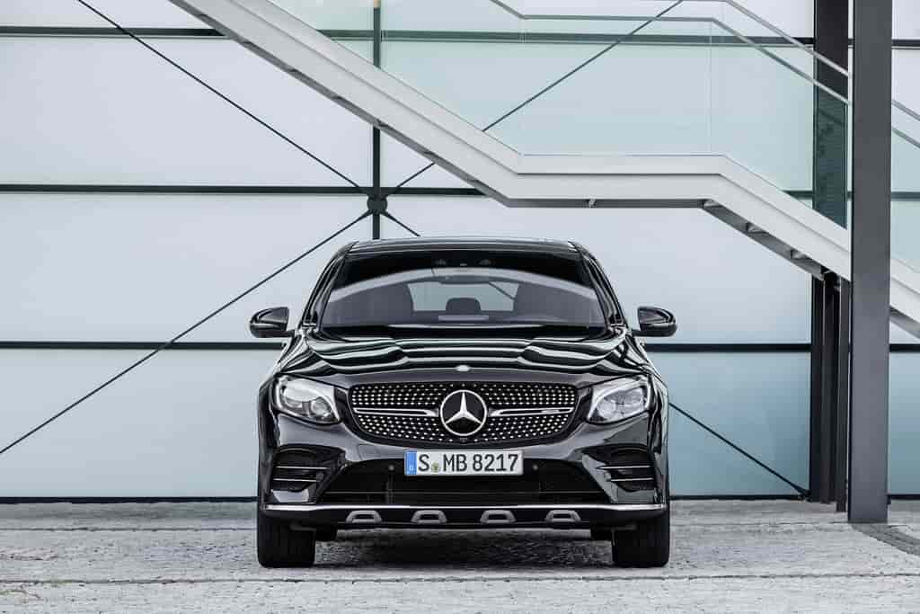 Photo d'un moteur de Mercedes AMG