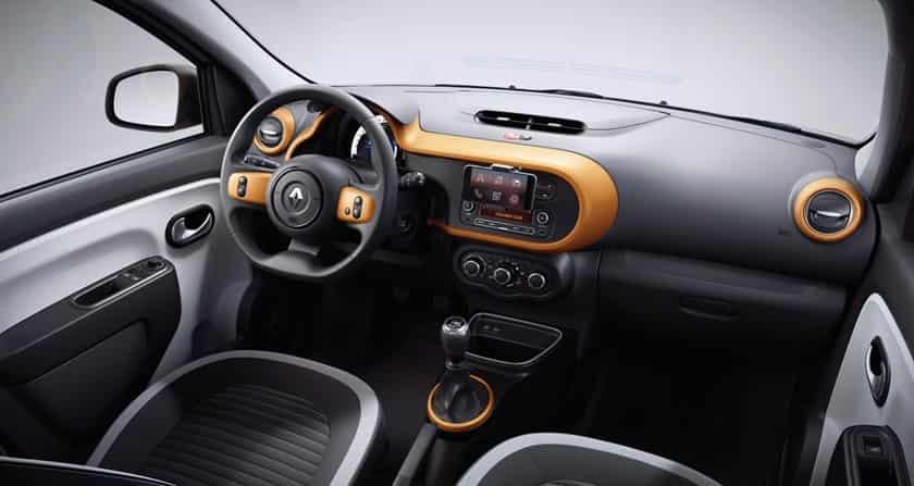 Intérieur nouvelle Renault Twingo III